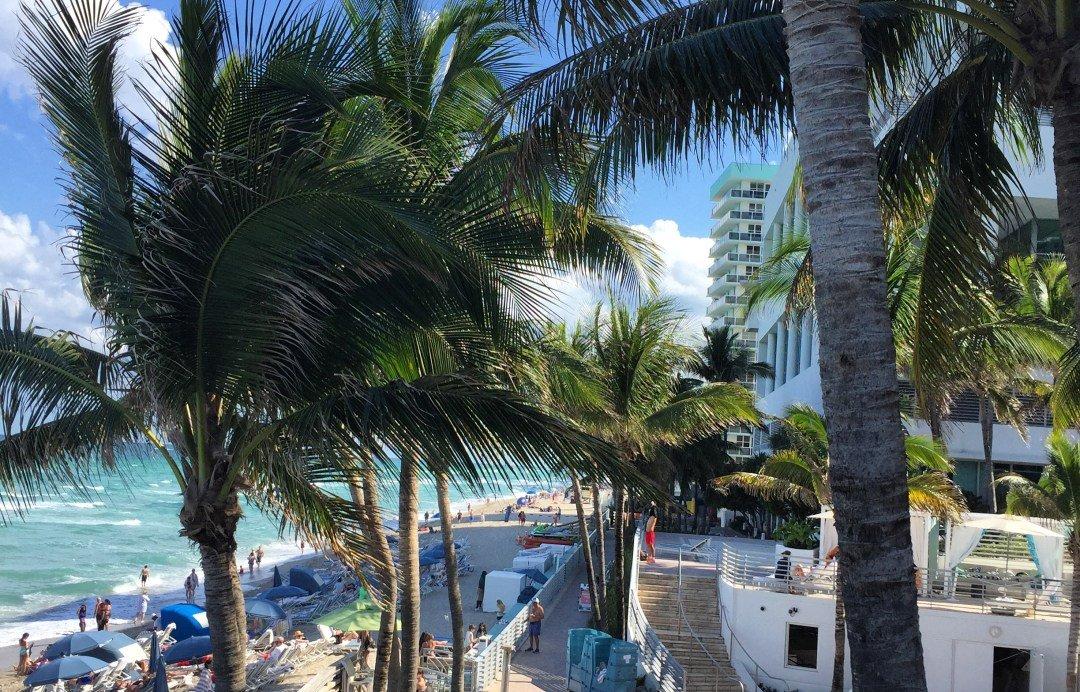 Escape Winter At the Diplomat Beach Resort