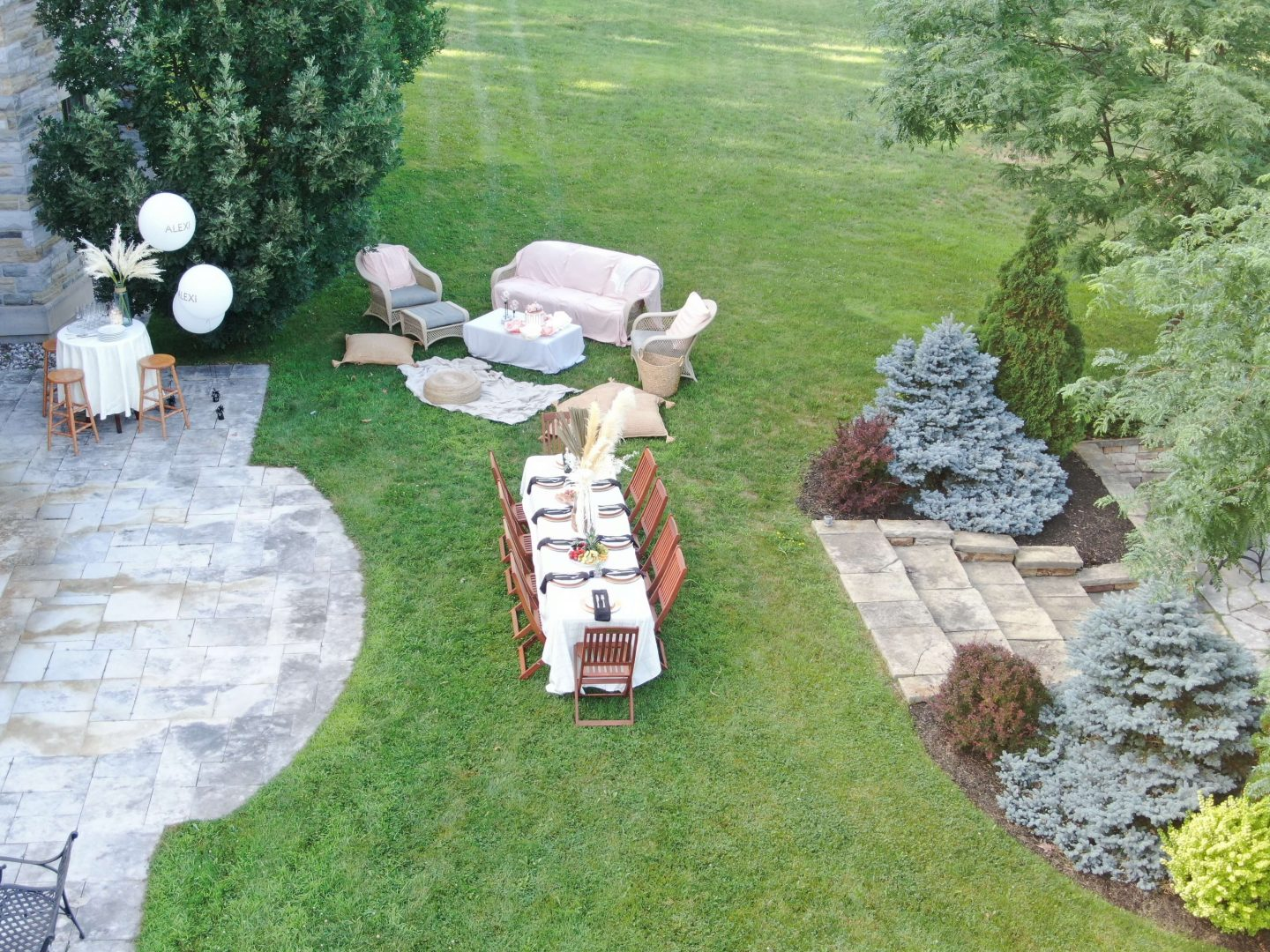 Tips For Throwing An Elegant Outdoor Party With Everyday Items.