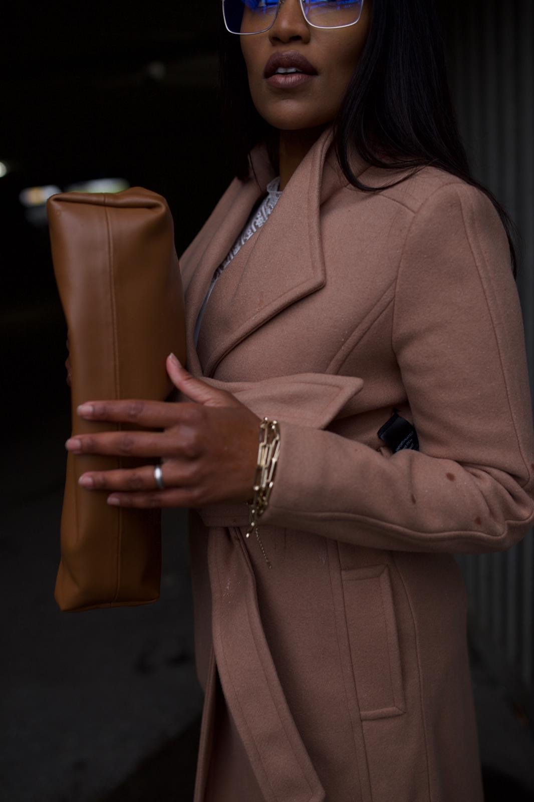 Camel Coat for Casual Outfit