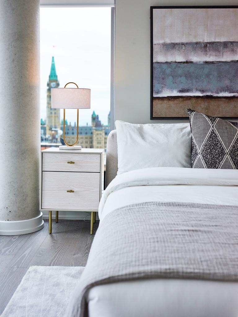 Comfortable bedrooms at Restays